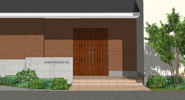玄関ドア提案1