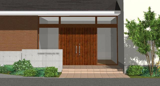 玄関ドア提案3
